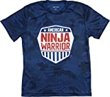American Ninja Warrior 2017 Tour Kids Camo Dri Fit T-Shirt-Blue-Small
