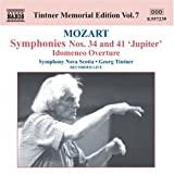 Tintner Memorial Edition Vol. 7 - Mozart Idomeneo Overturn & Symphonies 34 & 41