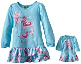 Dollie & Me Little Girls'  Reindeer Print Nightgown