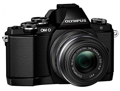 Olympus OM-D E-M10 Mirrorless Digital Camera with 14-42mm F3