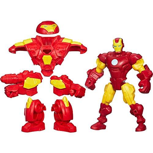 Hulk Armor Ironman Buster (Marvel Super Hero Mashers Iron man mash-up w/ HULK BUSTER BIG PACK)