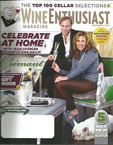Cotes Du Rhone Grapes (Wine Enthusiast December 1 2010 Magazine BONUS ENCLOSED