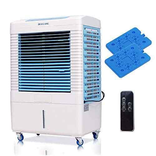 DUOLANG 2647 CFM Indoor/Outdoor Evaporative Air Cooler with Fan & Humidifier