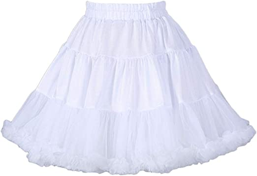 Pettiskirt, falda de tutú para mujer y niña, falda de tutú para ...