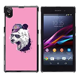 YOYOSHOP [Cool Panda ] Sony Xperia Z1 L39h Case by icecream design