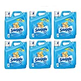 Snuggle Blue Sparkle Fabric Softener (210 Loads, 168 oz.) (6-Pack)