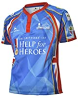 Help for Heroes 65 Degrees North Rugby Shirt (S-XXXXL) Army / Navy / RAF