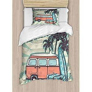 51qERTgO6fL._SS300_ Surf Bedding Sets & Surf Comforter Sets