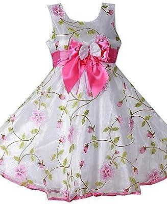 53a598178 cbin   Chihuahua niña flores 3 capas Arco Fiesta Vestido Boda dama de honor  fijo Tren Princesa Ropa