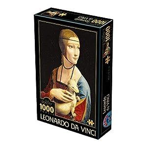 Unbekannt Toys 2 Puzzle 1000 A D Leonardo Da Vinci