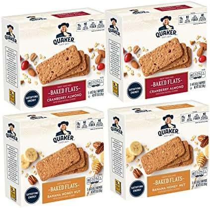 Granola & Protein Bars: Quaker Breakfast Flats