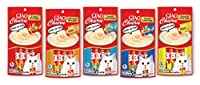 Ciao Churu Lickable Puree Creamy Cat Treat 5 Flavor Variety Pack