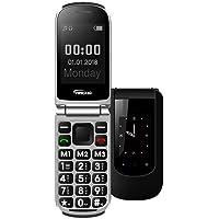 YINGTAI T09 Telephone Senior Clapet Portable Grandes Touches et Bouton SOS