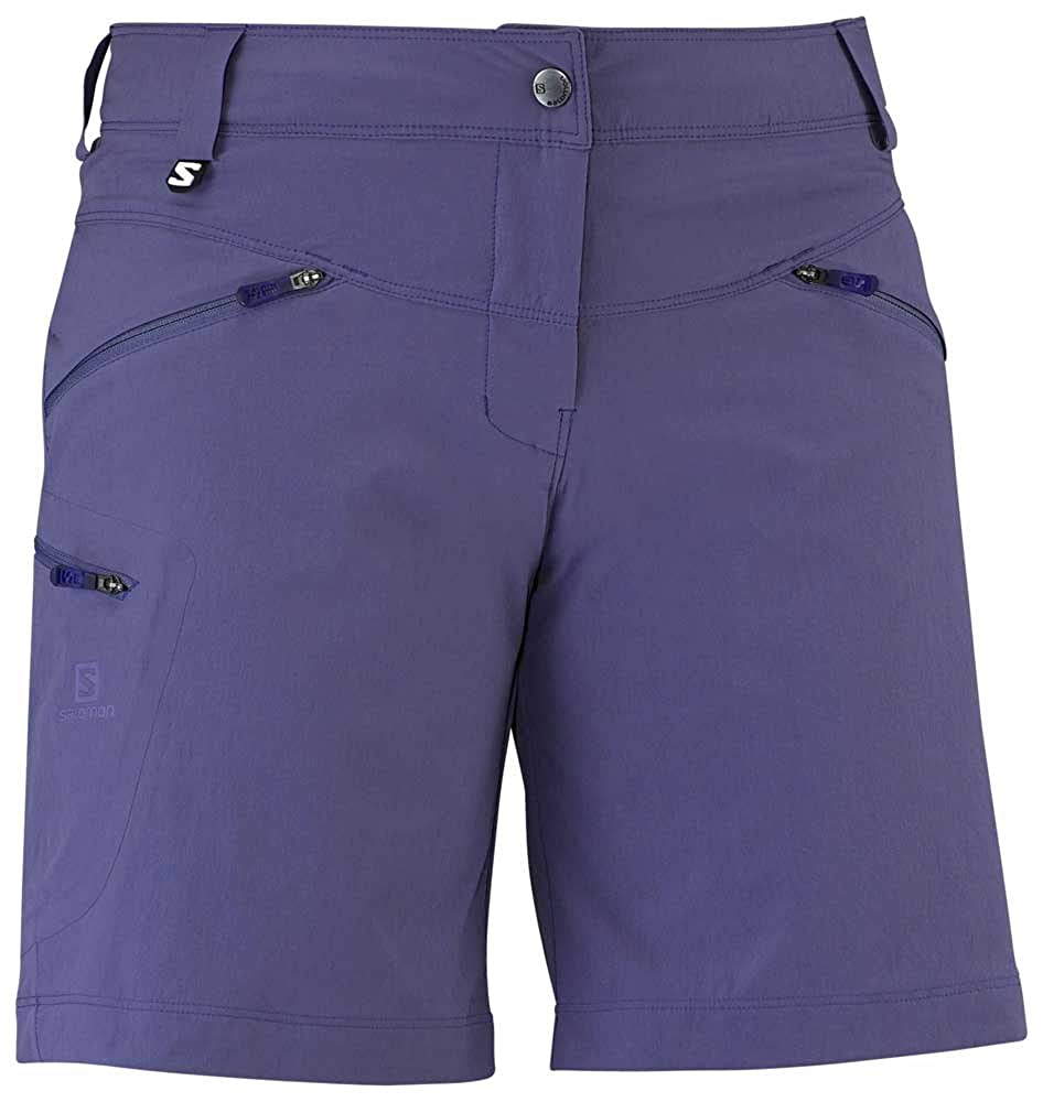 2dfc54cc707e Amazon.com  Salomon Women s Wayfarer Comfort Hiking Shorts  Sports    Outdoors