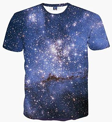 Sykooria Unisex 3D Novelty Tshirts Men Graphic Funny Printed Crewneck Short Sleeve Summer Tee Top Shirts