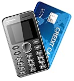 Kechaoda K66 Mini ultra slim credit card size Mobile phone With Bluetooth MP3 FM ** GOLD Colour **** FREE CHARGER WORTH 100 RS/- **