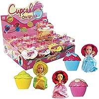 Cupcake Surprise CUP01 - Poupée Parfumée en Présentoir - 1 Pièce Assorti
