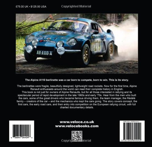 Alpine Renault: The Fabulous Berlinettes: Amazon.es: Roy Smith: Libros en idiomas extranjeros
