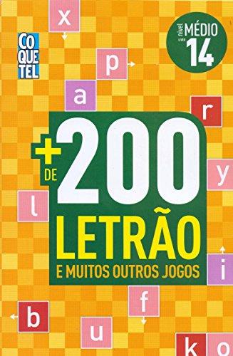 Mais de 200 Letrão e muitos outros jogos - Nível médio - Livro 14