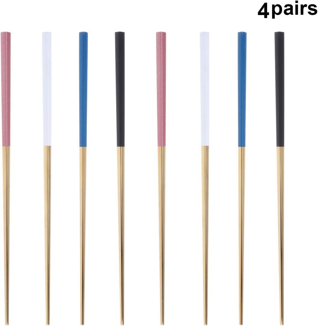 couteaux maison Lot de 4 supports de baguettes en m/étal restaurant h/ôtel cuill/ères fourchettes Pour baguettes argent UPKOCH