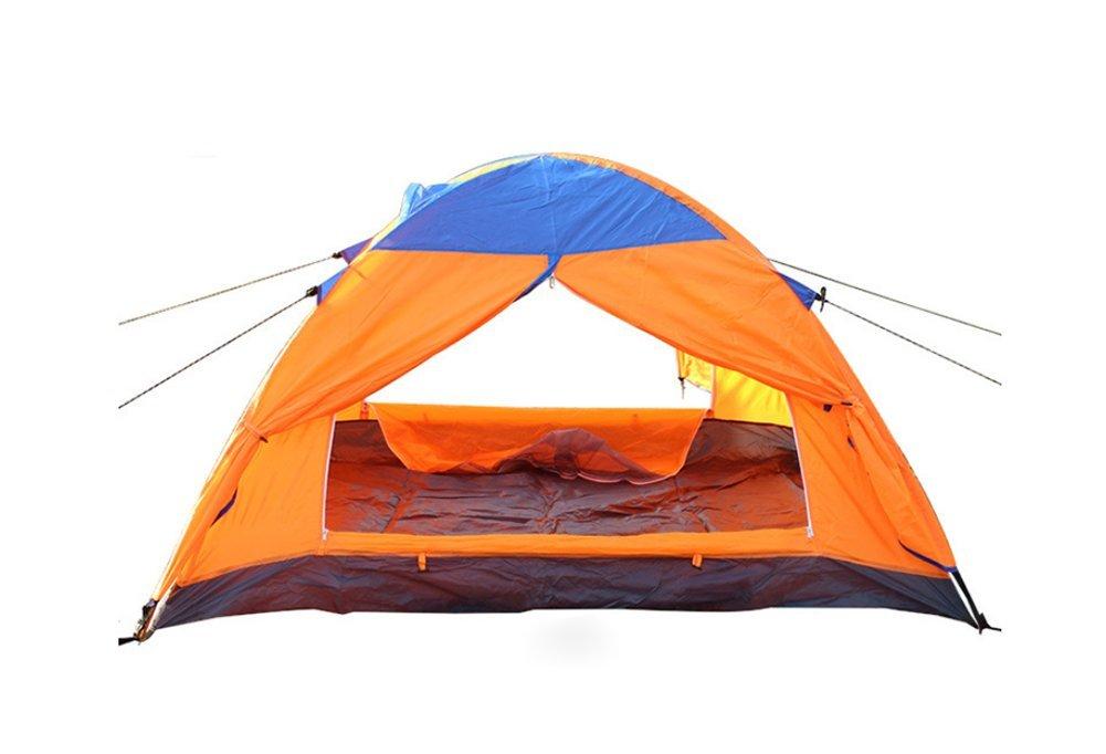 Outdoor-camping Zelt, Doppelte Campingausrüstung Schnell öffnende Portable Kabine Strandzelt Wasserdicht uv-Zelt