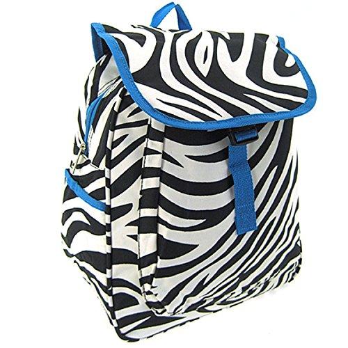 Zebra Print Drawstring - 2
