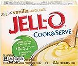 Jell-O Vanilla Cook & Serve Pudding Mix 4.6 Ounce Box