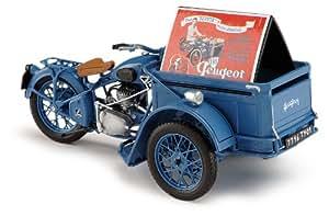 1952 Peugeot Triporteur 55 TN [Solido 153471], Azul, 1:18 Die Cast