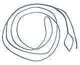 Ymiss Set of 2 UHMWPE Blue Hammock Whoopie Slings Adjustable Camping Ropes