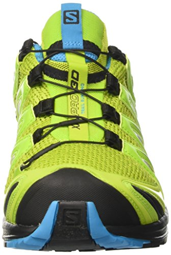 Salomon Mænds Xa Pro 3d Spor Løbesko Lime Grøn / Hawaiiansk / Sort NYUrZsAsx