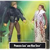 Star Wars Princess Leia Collection Leia and Han Solo (japan import)