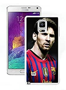 Beautiful Designed Case With Soccer Player Lionel Messi 15 White For Samsung Galaxy Note 4 N910A N910T N910P N910V N910R4 Phone Case