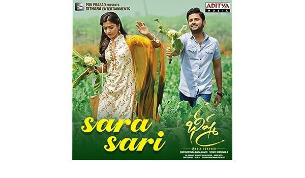 Amazon Com Sara Sari From Bheeshma Anurag Kulkarni Mahati Swara Sagar Mp3 Downloads