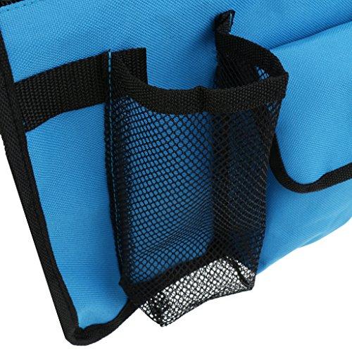 sharplace 3Stück tragbar Strand Sitz Hocker Stuhl zum Aufhängen Tasche für Schulter Seite Tasche Für Snacks Sonnenbrille Wasser Cups Kamera
