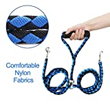 FOCUSPET Double Dog Leash, Dual Dog Leash 4.6 ft