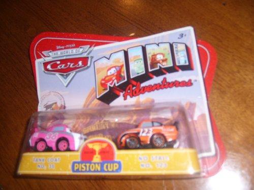 Disney CARS Mini Adventures Piston Cup Tank Coat No. 36 and No Stall No. 123 (Coat Tank)