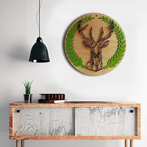 Amazon Com Deer Wall Art Wall Sign Wooden Wall Hangings