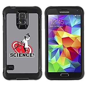 Hybrid Anti-Shock Defend Case for Samsung Galaxy S5 / Sciene