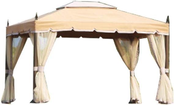 Cenador para exteriores, toldo para cobertizo, protector solar, pérgola, terraza, impermeable, resistente al viento, portátil, de aleación de aluminio, duradero, apto para camping, fiesta, playa, barbacoa, boda, cena: Amazon.es: Electrónica