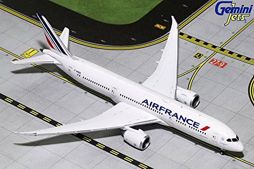 (GeminiJets GJAFR1637 Air France 1:400 Scale Diecast Model Airplane, White )