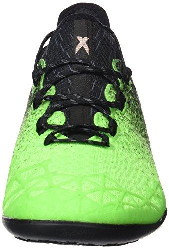 adidas Herren X Tango 16.1 in für Fußballtrainingsschuhe, Grün (Verde Versol/Negbas/Cobmet), 42 EU