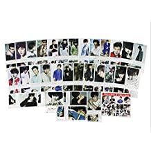 Kpop 40 pieces package Poster card Photo card Polaroid photo quality poster card EXO 2PM Beast GD TVXQ Shinee Super Junior BAP (Lee Minho)