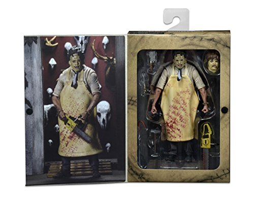 "NECA Texas Chainsaw Massacre - 7"" Scale Action Figure - 40th Anniversary Ultimate Leatherface"