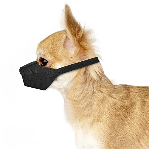 e Nylon Cloth Safety Muzzle (XXS) ()