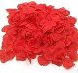 CODE FLORIST 2200 PCS Red Silk Rose Petals Wedding