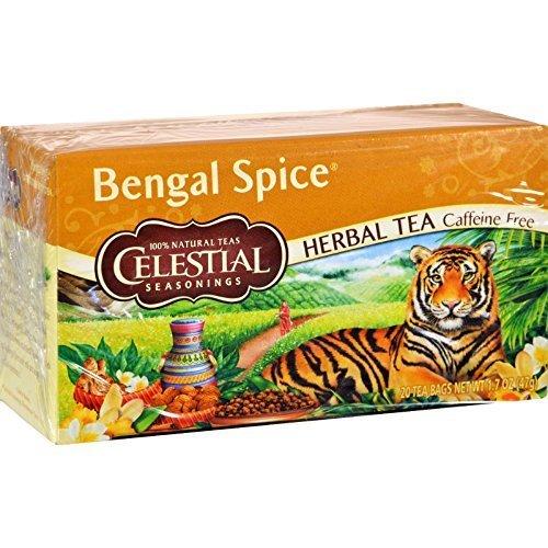 Celestial Seasonings Herb Tea Bengal Spice 20 Bag