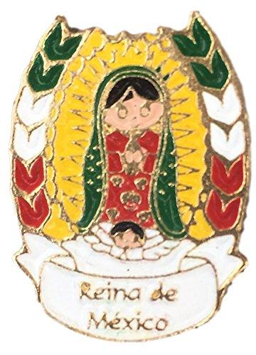 Amazon Virgen Guadalupe Mini Pin 1 Mini Button Our Lady Of