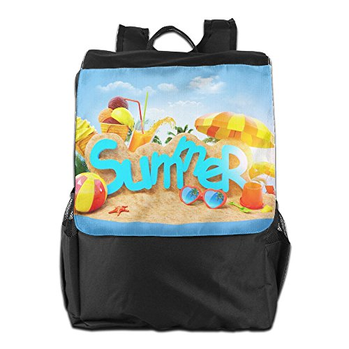 Time Backpack Outdoors HSVCUY School Storage Travel For Dayback Shoulder Summer Camping Personalized And Men Adjustable Enjoy Women Colorful Strap zwx5pqwrE