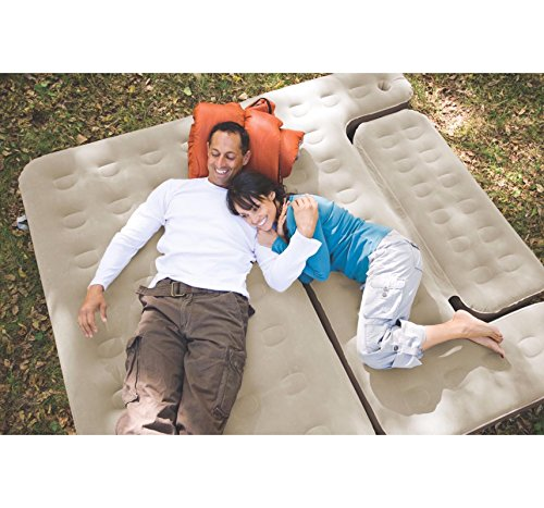 NEW! COLEMAN Premium 5-in-1 Twin/King PVC Quickbed Airbed Mattress & Hide-A-Sofa by Coleman (Image #1)