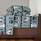 Roostery Movie 4pc Sheet Set The Usual Suspects by Beesocks Queen Sheet Set made with
